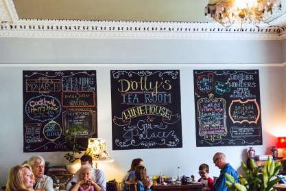 "Dolly's Tea Room - where I had my first ""proper"" tea"