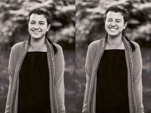 These photos are blurry, but Alanna is so cute that it's fine.