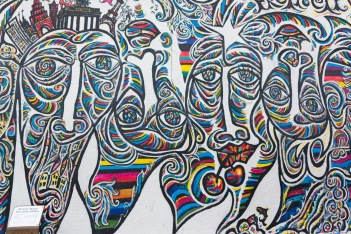 Some artwork from the East Side Gallery (2/2)