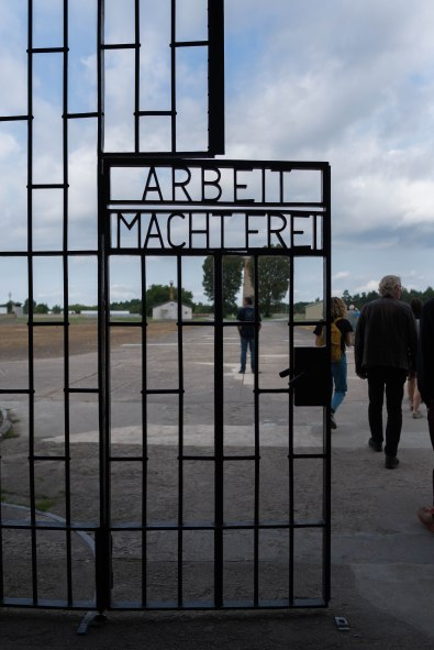 "Sachsenhausen (3/7) Arbeit Macht Fret - ""Work makes you free"""